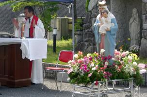 聖母行列の様子
